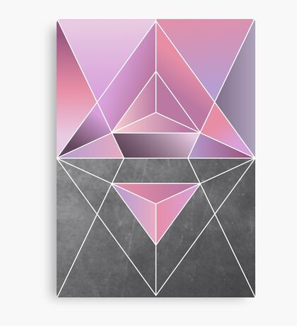 Polar geometry Canvas Print