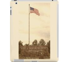 Veterans Park War Memorial iPad Case/Skin