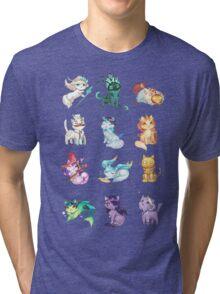 League of Support Cats ! Tri-blend T-Shirt