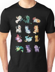League of Support Cats ! Unisex T-Shirt