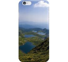 The seven lakes iPhone Case/Skin