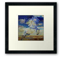 Apache Dreaming Framed Print