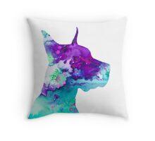 Great Dane 7 Throw Pillow