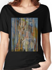 Wild Horses Abstract Women's Relaxed Fit T-Shirt