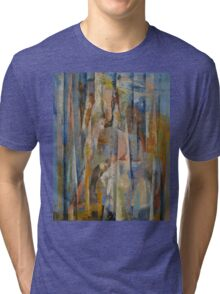 Wild Horses Abstract Tri-blend T-Shirt