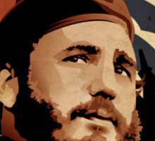 Fidel Castro Sticker