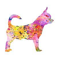 Chihuahua by Watercolorsart