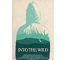 Into the Wild minimalist movie poster Photographic Print