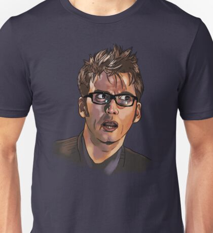 David Tennant - Sketchy Portrait 1 Unisex T-Shirt