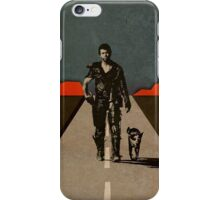 MAD MAX - The Road Warrior Custom Poster iPhone Case/Skin