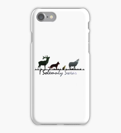 """I Solemnly Swear"" Colour iPhone Case/Skin"
