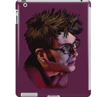 David Tennant - Sketchy Portrait 2 iPad Case/Skin
