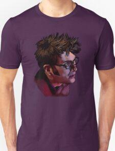 David Tennant - Sketchy Portrait 2 T-Shirt