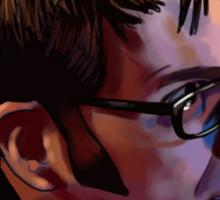 David Tennant - Sketchy Portrait 2 Sticker