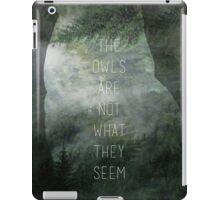 Twin Peaks minmalist movie poster iPad Case/Skin
