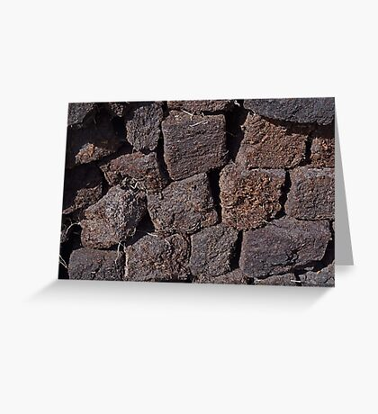 Irish Peat Greeting Card