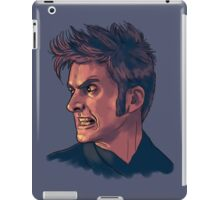 David Tennant - Sketchy Portrait 3 iPad Case/Skin