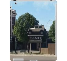 Al Capone's car at the Motel where he stayed during prohibition - Moose Jaw Saskatchewan-PICTURE AND OR CARD iPad Case/Skin
