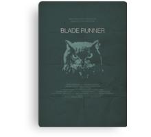 Blade Runner minimalist movie poster Canvas Print