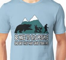 Funny old people Unisex T-Shirt