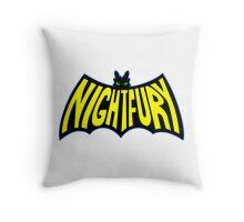 Na Na Na Na Nightfury Throw Pillow