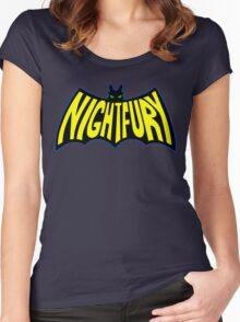 Na Na Na Na Nightfury Women's Fitted Scoop T-Shirt