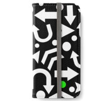 Right Direction - green iPhone Wallet/Case/Skin