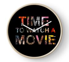 Time To Watch A Movie Clock