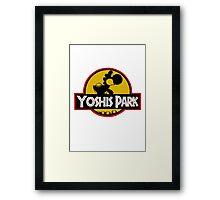 YOSHIS PARK Framed Print