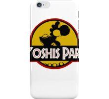 YOSHIS PARK iPhone Case/Skin