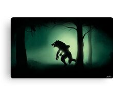Midnight Stalk Canvas Print
