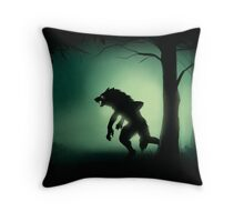 Midnight Stalk Throw Pillow