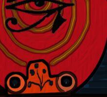 Lucky Egyptian Scarab Sticker