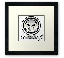 Execration Logo Framed Print