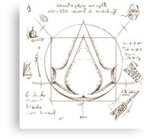 assassin creed 2 da vinci 02 Canvas Print