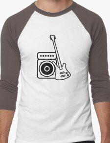Bass guitar with amp Men's Baseball ¾ T-Shirt