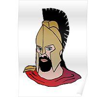 Gladiator head Poster