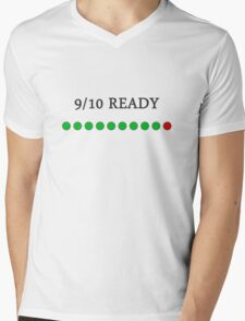 9/10 Ready Mens V-Neck T-Shirt