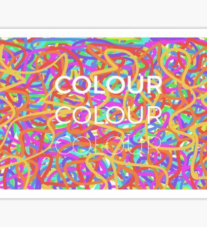 Colour Sticker