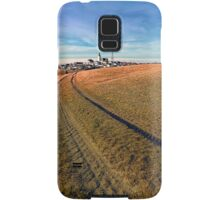 On the way to the village center | landscape photography Samsung Galaxy Case/Skin