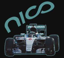 F1 2016 driver Nico Rosberg Kids Tee