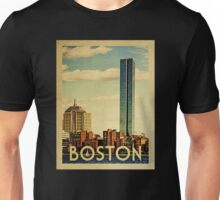 Boston Vintage Travel T-shirt Unisex T-Shirt