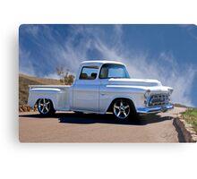 1956 Chevrolet Custom Pickup 6 Metal Print