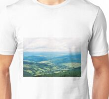 View From The Mountain To The Village 2 Unisex T-Shirt