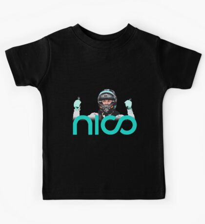 Rosberg driver champion Formula 1 2016 Kids Tee