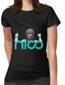 Rosberg driver champion Formula 1 2016 Womens Fitted T-Shirt
