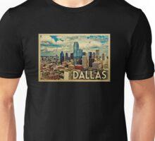Dallas Vintage Travel T-shirt Unisex T-Shirt