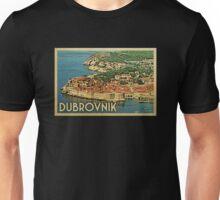 Dubrovnik Vintage Travel T-shirt Unisex T-Shirt