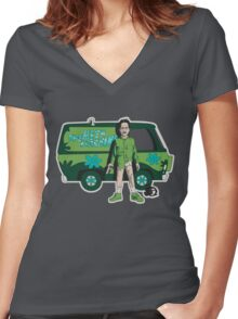 The Meth Machine Women's Fitted V-Neck T-Shirt