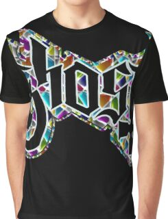 GHOST - stained glass Graphic T-Shirt